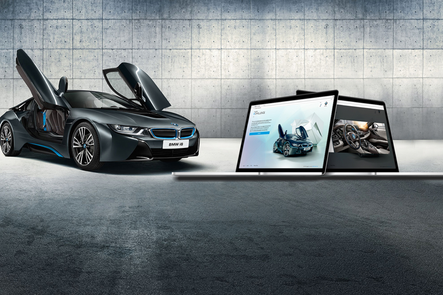 Hive BMW i8 Gallery