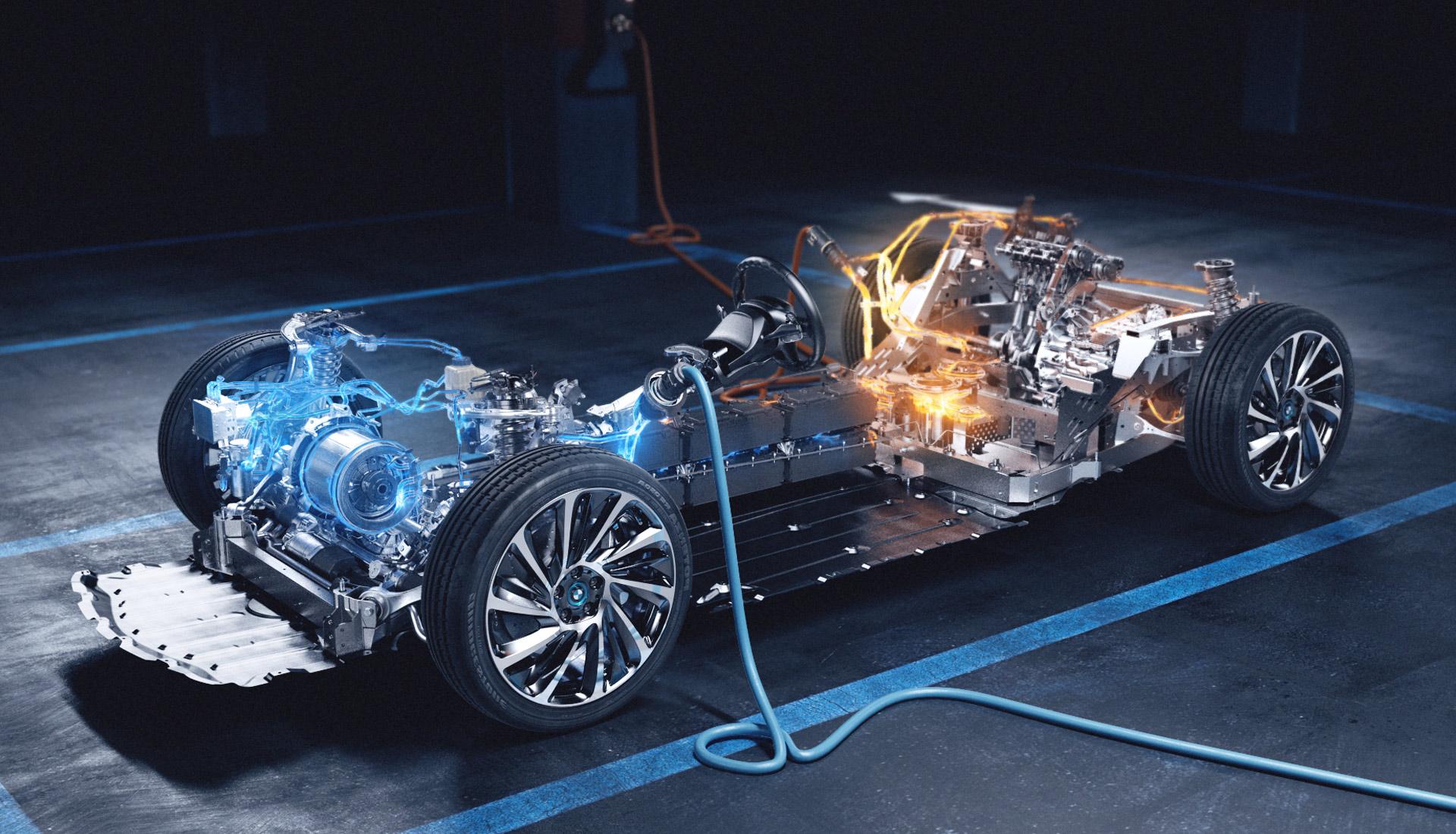 BMW i8 challenge microsite