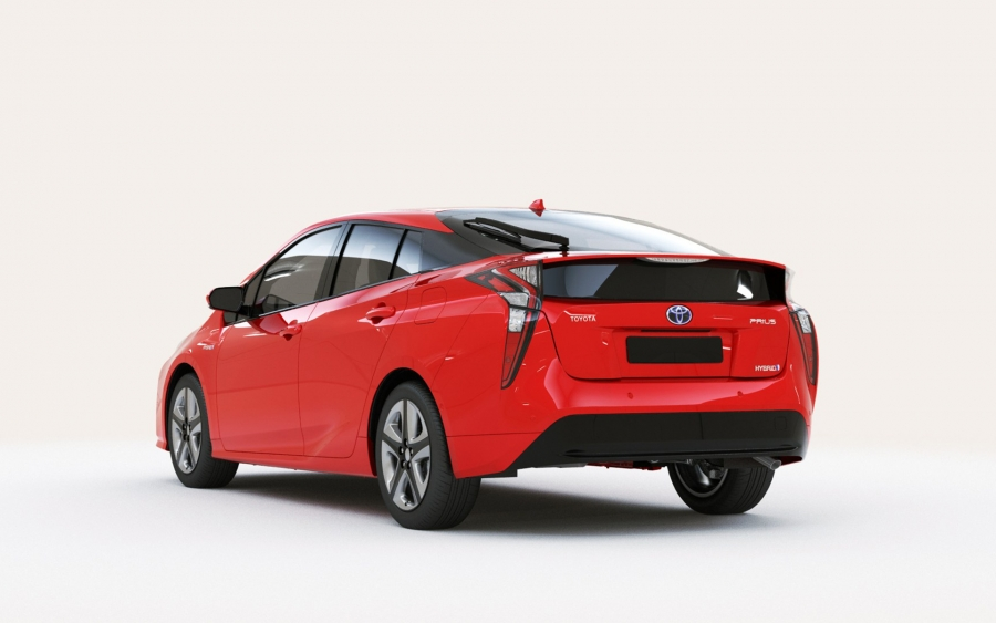 toyota prius hybrid red 2 - Hive Innovative Group - Digital Advertising Agency