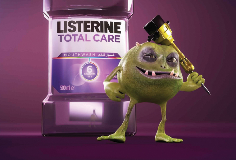 Hive Listerine Galary - Hive Innovative Group - Advertising Agency