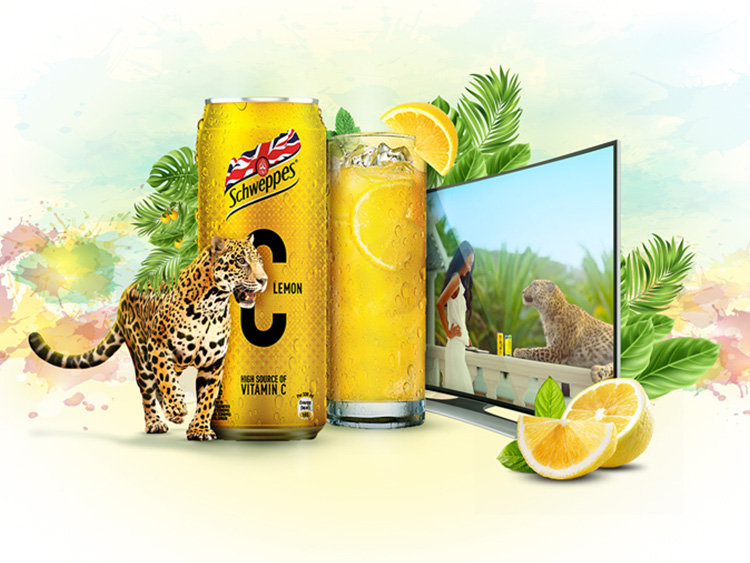 Schweppes +C 3 - Hive Innovative Group - Digital Marketing and Advertising Agency