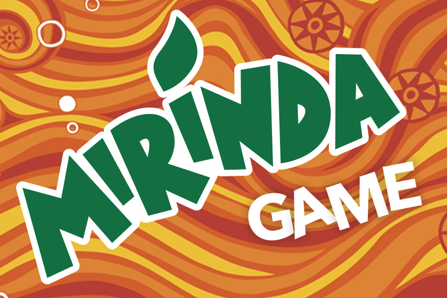 Mirinda fun and interactive game - Hive Innovative Group - Advertising Agency
